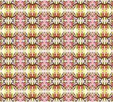 flowering tree branch pattern by Dawna Morton