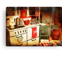 Once Upon a Time There Was a Kitchen....  Canvas Print