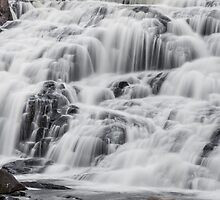 Cascading Waterfall by Kenneth Keifer