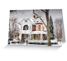 Snow for Christmas Greeting Card