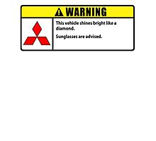 Mitsubishi WARNING - shine bright by TswizzleEG