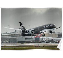 Dreamliner Departure Poster