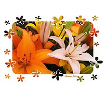 Memories of Spring ~ Lilies Photographic Print
