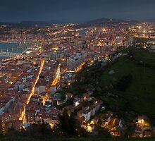 Nightfall in Santurtzi by PhotoBilbo