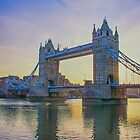Tower Bridge Sunrise by Chris Thaxter