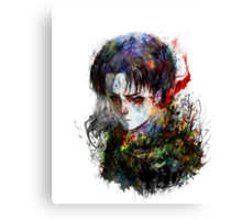 Attack on Titan. Levi Canvas Print