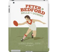 Peter Bedford, South Melbourne - white shirts iPad Case/Skin