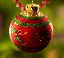 Christmas Bauble by ChameleonImages