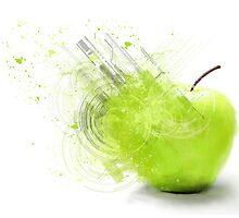 Green Apple  by Arkas92