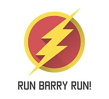 The Flash Run Barry Allen by toughandtender