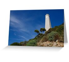 Lighthouse at Saint-Jean-Cap-Ferrat, France, French Riviera Greeting Card