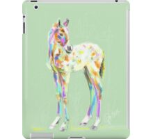 Foal Paint products iPad Case/Skin