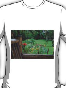 Backyard Flower Garden T-Shirt