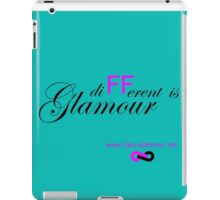 Different is Glamour - Blue Tiffany iPad Case/Skin