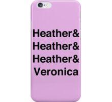 Heather-vetica iPhone Case/Skin