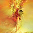 ANGEL OF ABUNDANCE (FORTUNA) - Greeting Cards & Postcards by Anna Miarczynska