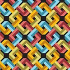 Impossible Square Pattern by candyguru