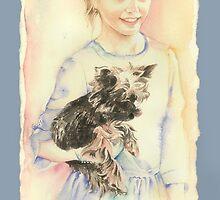 *Portrait of Sylwia* by Anna Ewa Miarczynska