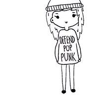 Defend Pop punk Girl by Beth McConnell