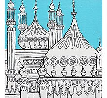 Blue Domes Photographic Print