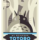 My Neighbor Totoro by UniqSchweick12