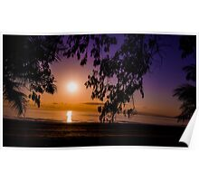 Tropical Sunrise Poster