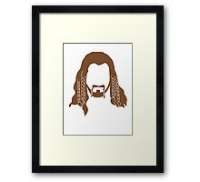 Fili's Beard Framed Print