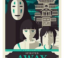 Spirited Away by UniqSchweick12