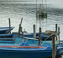 Hellenic Boats 10 by Andreas Theologitis