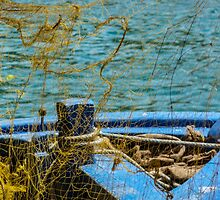 Hellenic Boats 11 by Andreas Theologitis