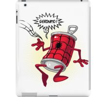 Spider-can iPad Case/Skin