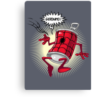 Spider-can Canvas Print