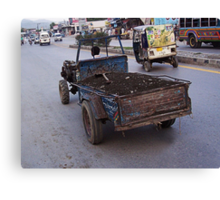 ☚ ☛ ☜ Y THIS ISN'T FIT TO B DRIVEN ITS READY FOR THE JUNK YARD !!☚ ☛ ☜ Canvas Print