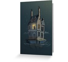 English House Greeting Card