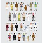 Star Wars Alphabet 2 by Sergei Vozika