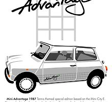 Classic 1987 Mini Advantage by car2oonz