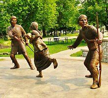 The Tuscarora Heroes Monument ~ Lewiston, NY by artwhiz47