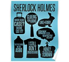 Sherlock Quotes Poster