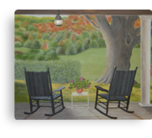 Afternoon with You Canvas Print