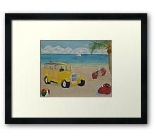 Beach Bash Framed Print