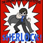 Sherlock Holmes--Pilgrim-Style (the comic book!) by Mister Dalek and Co .