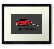 Hit The Apex Framed Print