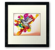 Flights of Color Framed Print