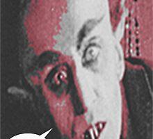 "'Count Orlock, the Vampire #3', FROM THE FILM "" Nosferatu vs. Father Pipecock & Sister Funk (2014)"" by TexWatt"