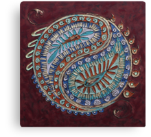 Paisley Pair Canvas Print
