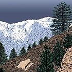 Winter Hike Up Twin Peaks by Jared Manninen