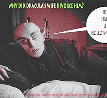 "'Count Orlock, the Vampire #4', FROM THE FILM "" Nosferatu vs. Father Pipecock & Sister Funk (2014)"" by TexWatt"