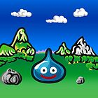 A Slime Draws Near! w/background by likelikes