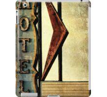 Vintage Arrow Motel Sign, Lompoc, CA iPad Case/Skin
