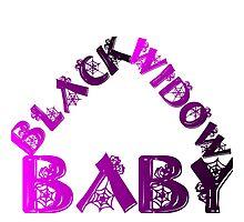 BLACK WIDOW BABY Photographic Print
